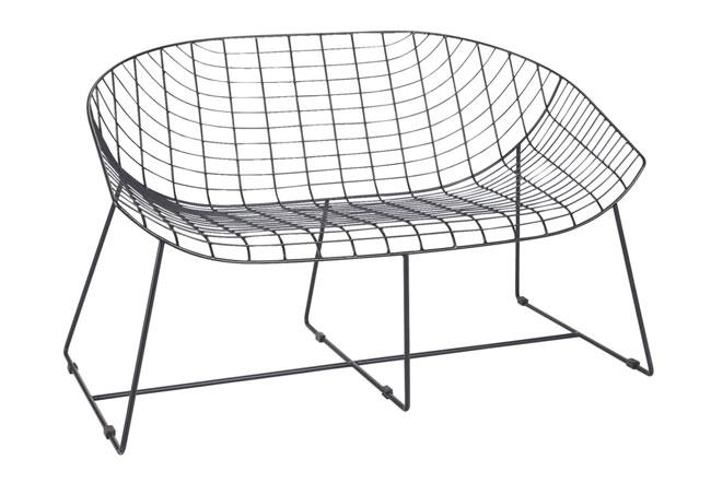 Leopold midcentury-style garden seating at Habitat