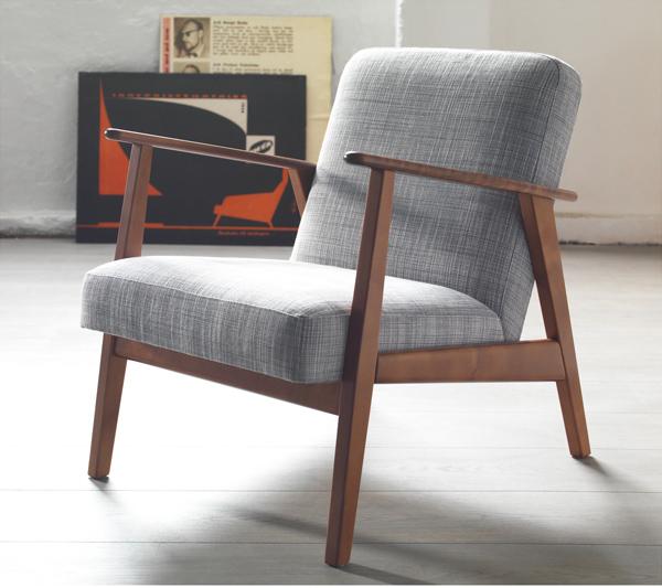 Midcentury-style Ekenaset armchairs