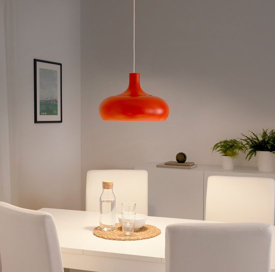 1970s-style Vaxjo pendant light