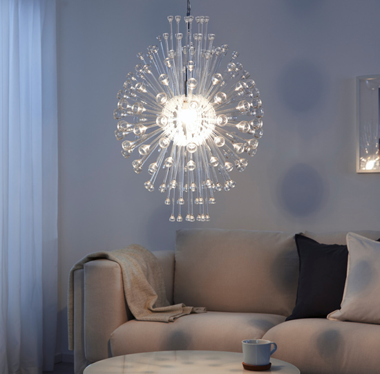 Retro Stockholm chandelier