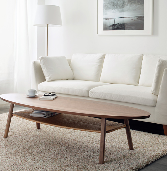 Midcentury-style Stockholm coffee table