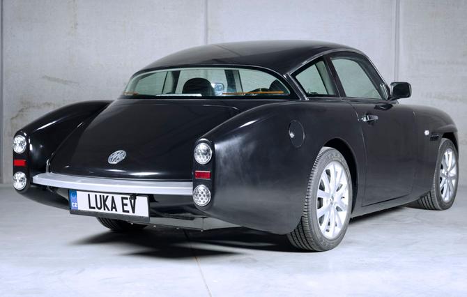 1960s-style Luka EV electric car by MW Motors
