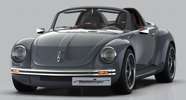 VW Beetle goes sporty with the Memminger Roadster 2.7
