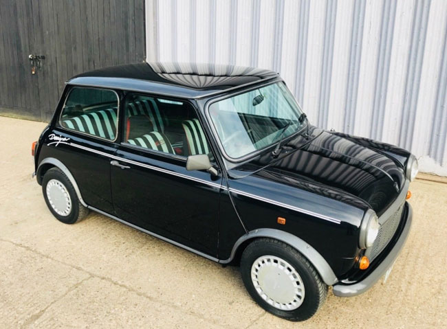 Low mileage Austin Mini Mary Quant Edition on eBay