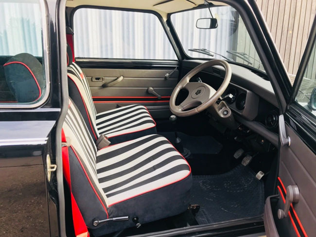 Low mileage Austin Mini Mary Quant Edition on eBay