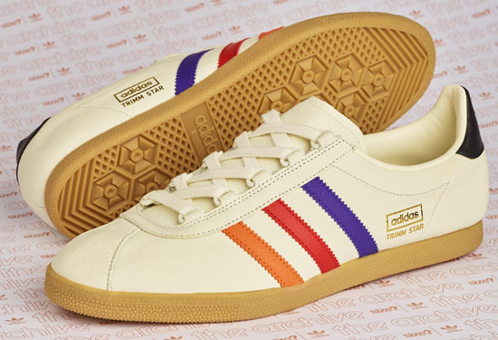 Adidas Archive Trimm Star trainers back as a VHS Size? exclusive