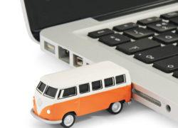1962 VW Camper Van USB memory sticks