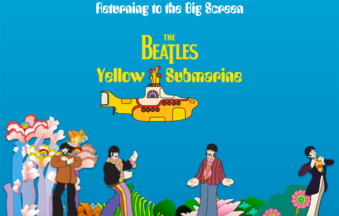 The Beatles Yellow Submarine returns to cinemas for 50th anniversary