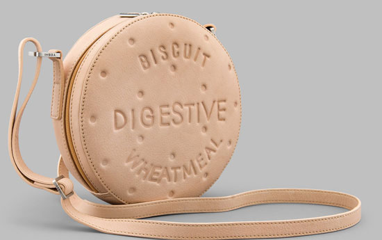 Classic handmade biscuit bags by Yoshi
