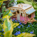 Vintage caravan birdhouses by One Man One Garage