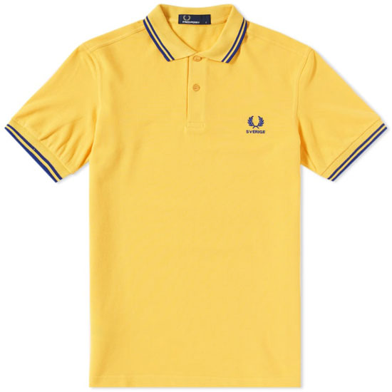 Fred Perry brings back the World Cup polo shirts