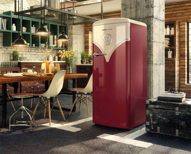 Kitchen cool: Five super-stylish retro fridges