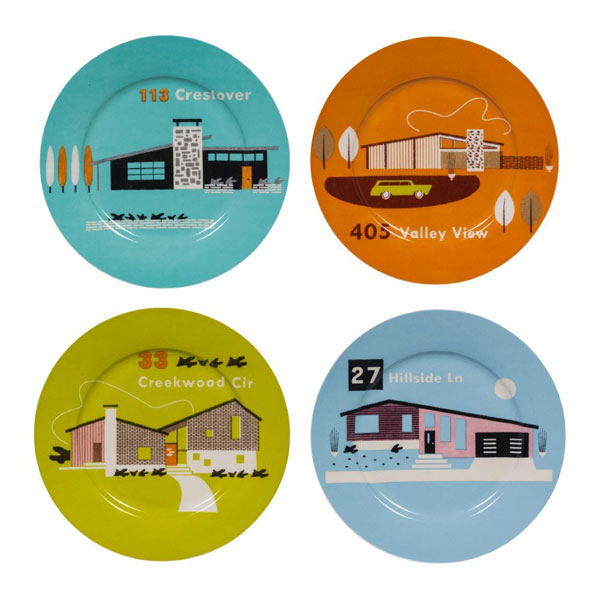 Bargain spotting: Midcentury Homestead plates and cups at Magpie