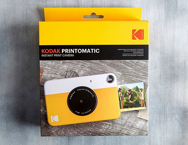 Kodak introduces the Printomatic retro instant camera