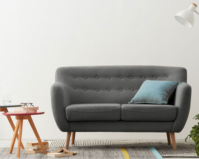 Midcentury sofas with the Rana range at Made