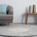 Retro Vaserely rug by Niki Jones for Made