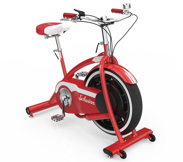 Retro fitness: Schwinn Classic Cruiser exercise bike