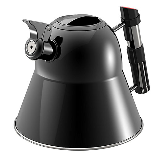 Brewing up with the Star Wars Darth Vader kettle