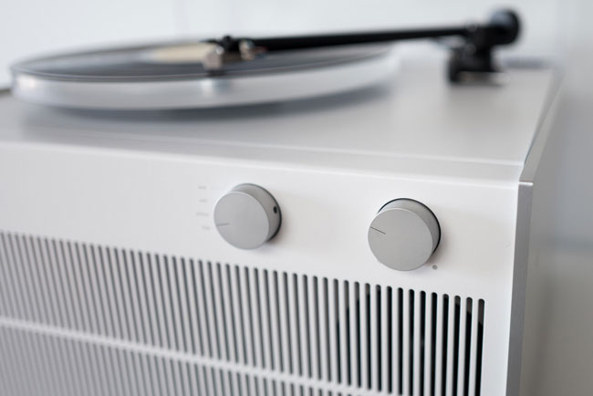 Dieter Rams style: Symbol Audio Modern Record Player