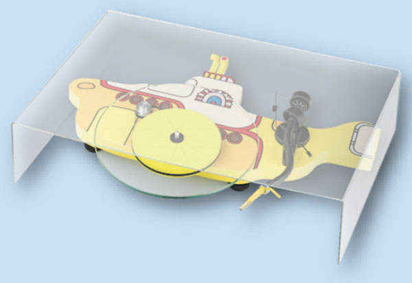 The Beatles Yellow Submarine turntable by Pro-Ject