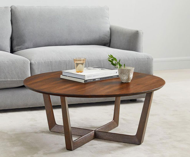 Stowe coffee table at West Elm