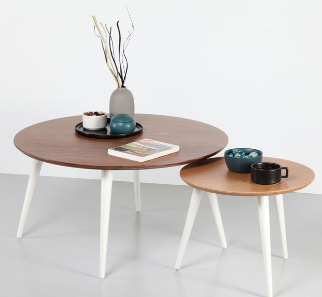 Danish nest of tables by Smart Space Furniture