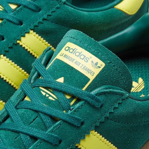 Adidas Bermuda trainers get a collegiate green reissue
