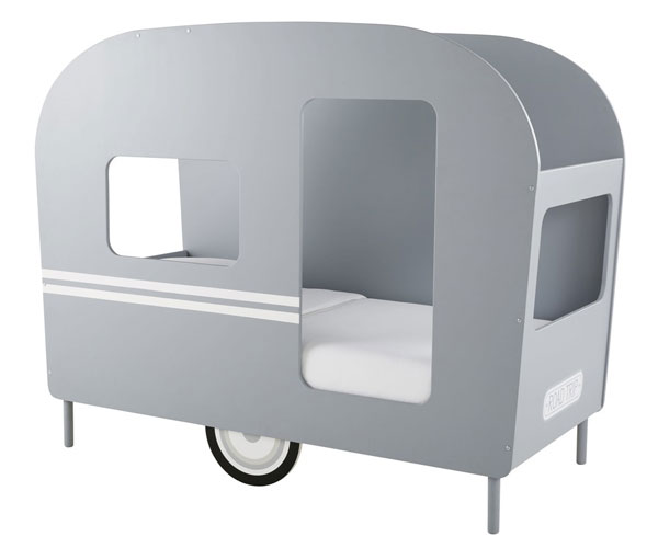 Vintage caravan bed for kids at Maisons Du Monde