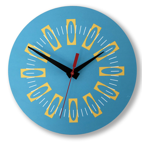 Midcentury-style clock range by Destination PSPMidcentury-style clock range by Destination PSP