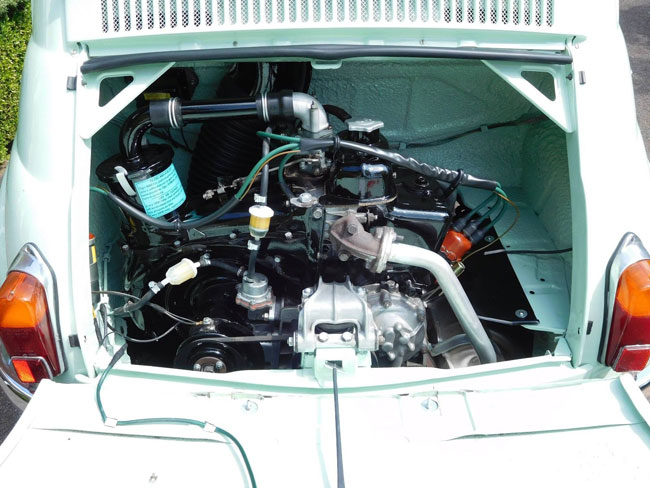 Restored 1962 Fiat 500D Trasformabile car on eBay