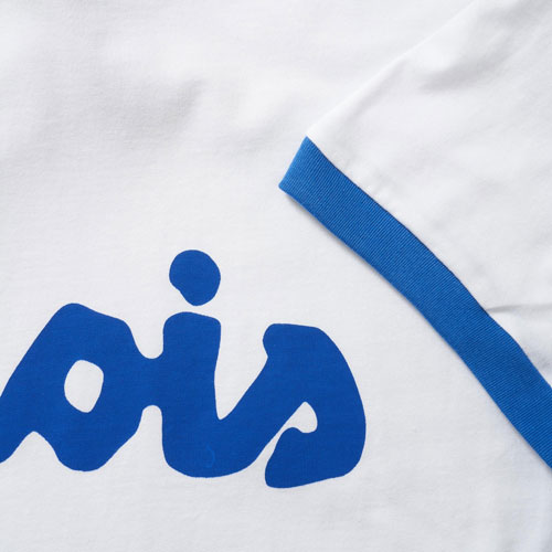 Vintage-style Lois ringer t-shirt