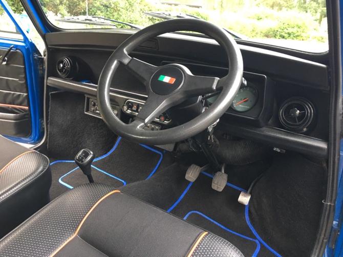 1993 Rover Mini Italian Job Edition car on eBay