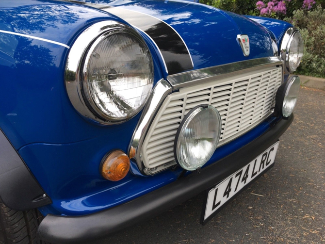 1993 Rover Mini Italian Job Edition car on eBay