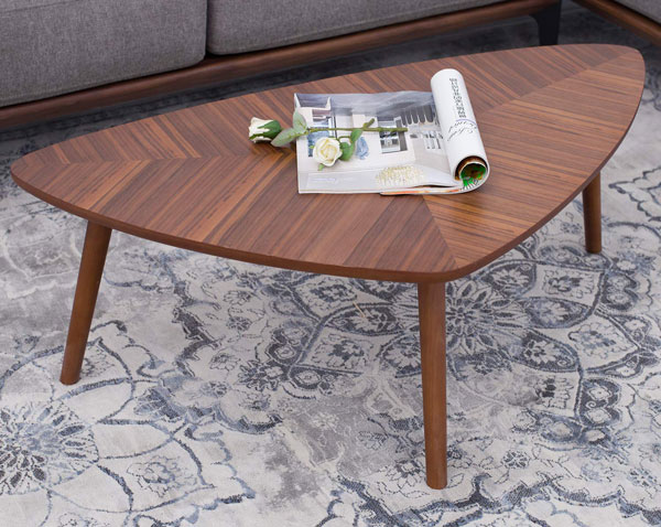 Rivet midcentury modern coffee table at Amazon