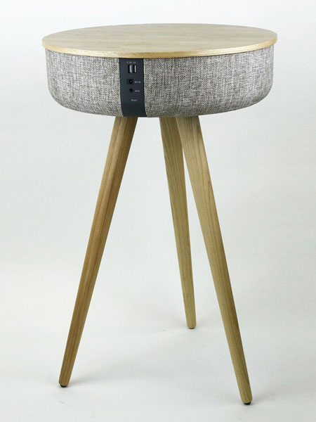 Tabblue - the midcentury speaker table by Steepletone