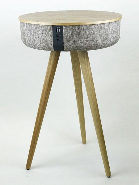 Tabblue - the midcentury speaker table by Steepletone