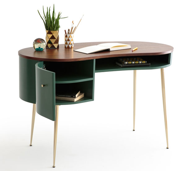 1950s-style Topim desk at La Redoute