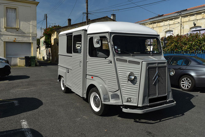 Retro wheels: Vintage Citroen HY van on eBay