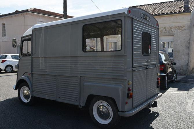 Retro wheels: Vintage Citroen HY van on eBay