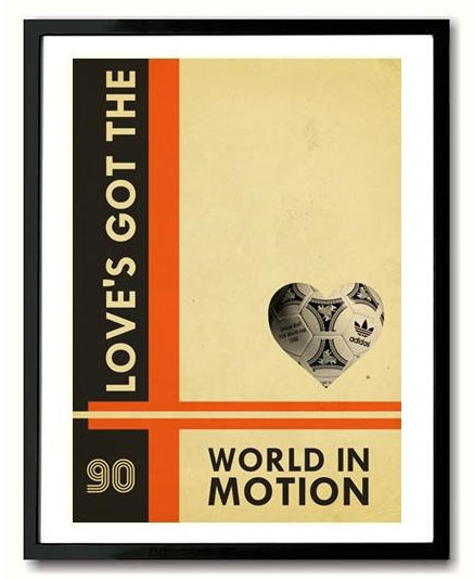 New Order World In Motion World Cup print by Indieprints