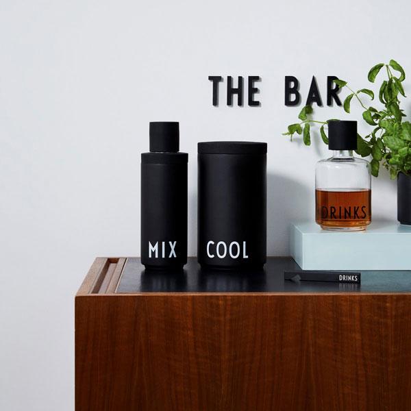 Arne Jacobsen Design Letters barware range