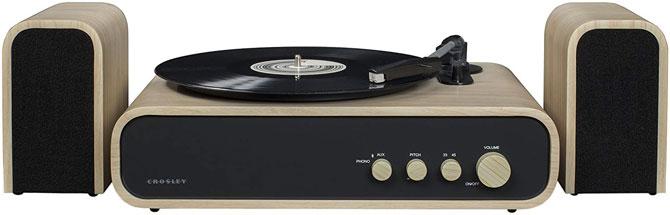 Crosley Gig midcentury-style record player