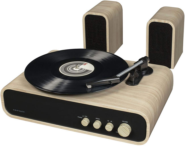 Crosley Gig midcentury-style record player