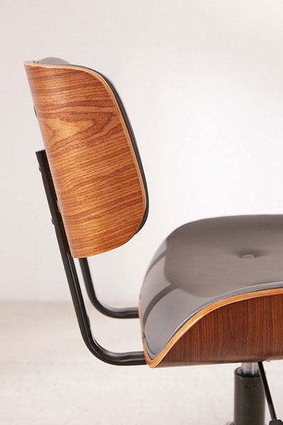 Eames-inspired Lombardi desk chair at Urban Outfitters