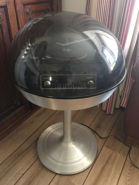 Electrohome Apollo 711 space ago audio system on eBay
