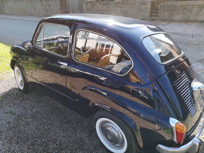 Rare 1960s right hand drive Fiat 600D on eBay