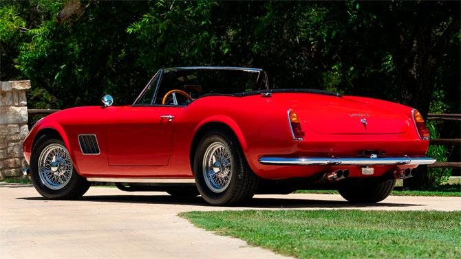 Ferris Bueller's Ferrari goes up for auction