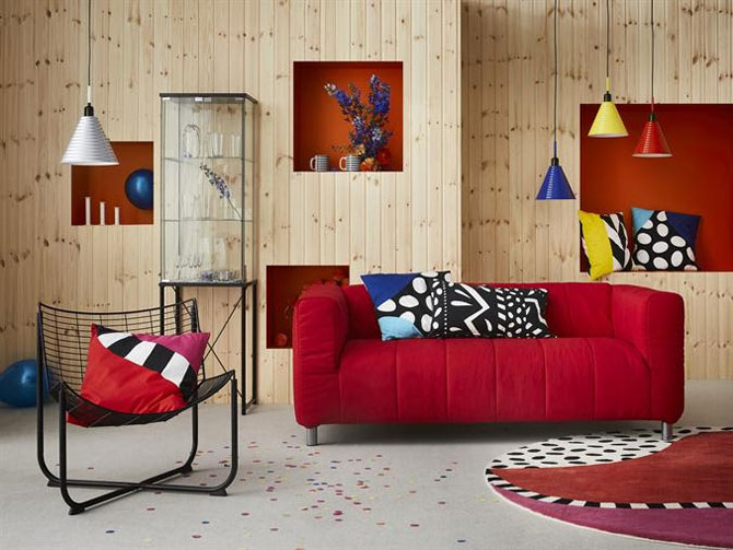 Go 80s with the Ikea Fargstark pendant lamp