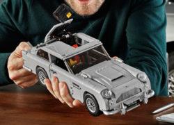 James Bond Goldfinger Aston Martin DB5 Lego set unveiled