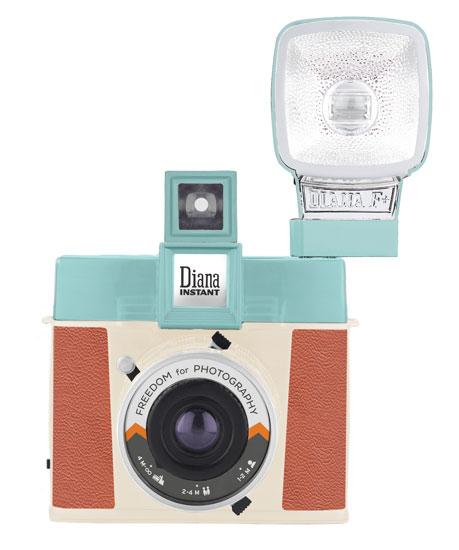 Lomo Diana Instant Square 1960s-style instant camera